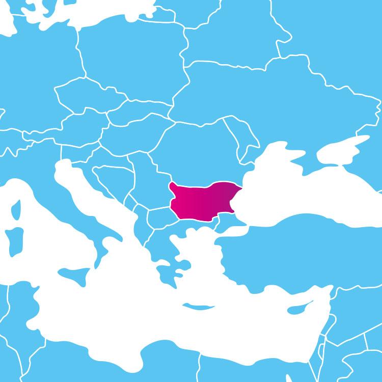 Base de données des codes postaux de la Bulgarie : liste des codes postaux des localités de la Bulgarie au format .sql