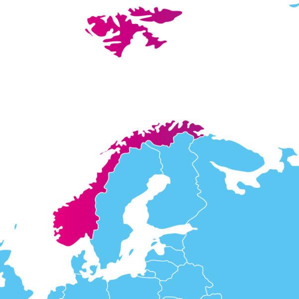 Base de données des codes postaux de la Norvège : liste des codes postaux des localités de la Norvège au format .sql