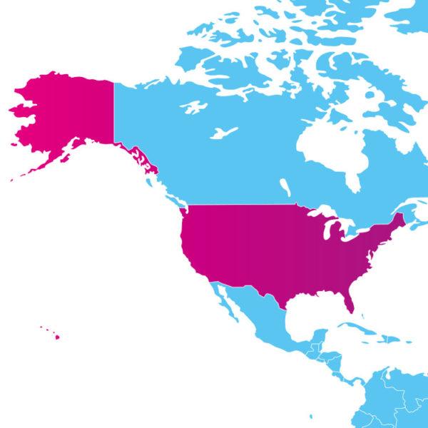 Base de données des codes postaux des Etats-Unis d'Amérique : liste des codes postaux des localités des Etats-Unis d'Amérique au format .sql