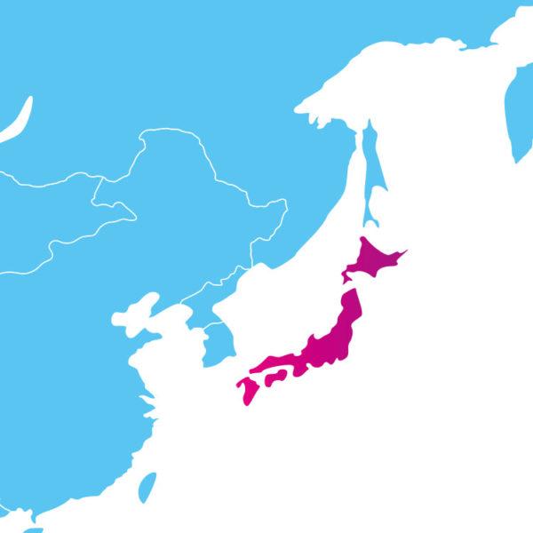Base de données des codes postaux du Japon : liste des codes postaux des localités du Japon au format .sql