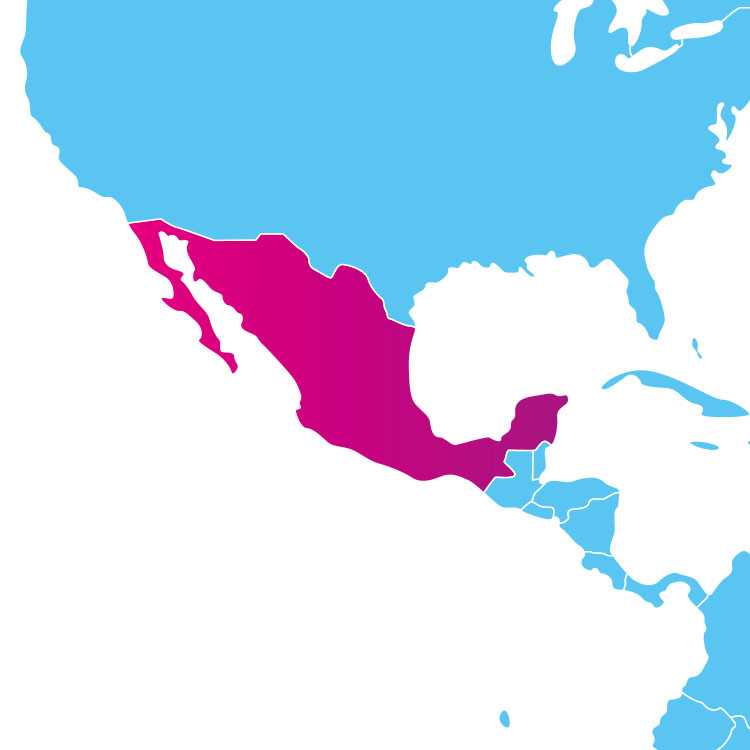 Base de données des codes postaux du Mexique : liste des codes postaux des localités du Mexique au format .sql